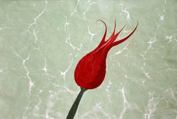 Turkish Ebru Art - love this marbling
