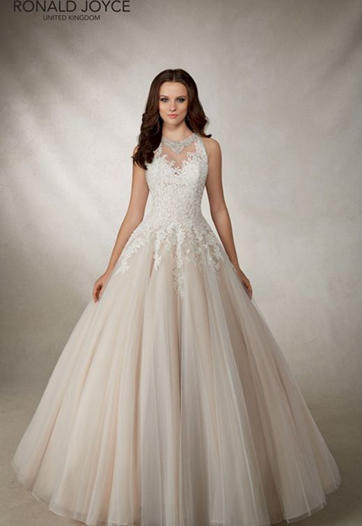 This Ronald Joyce, Alma is included in the new additions to our wedding gown collection. Call 01799 526982 to book your Fleur de Lys Bridal VIP appointment