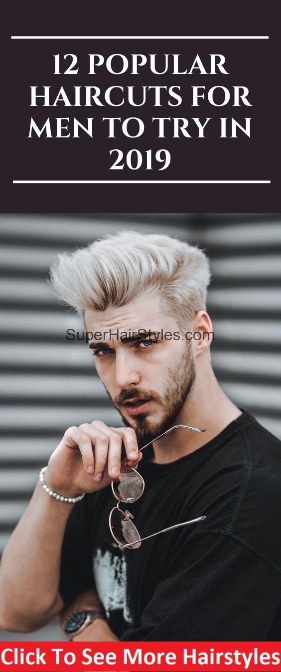 12 Popular Haircuts For Men To Try in 2019  #menshair #barber #mensfashion #barb