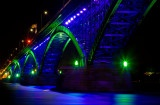 Peace Bridge in Blue