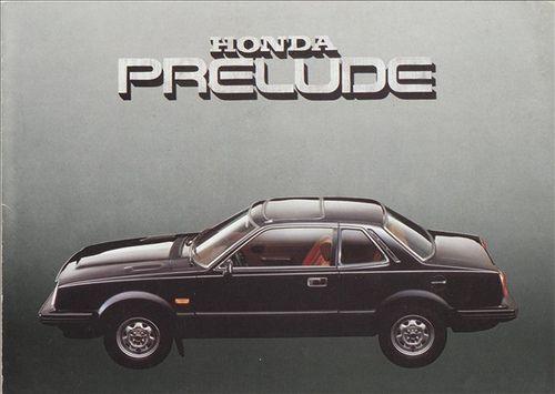 Honda Prelude Mk1 France Brochure 1980