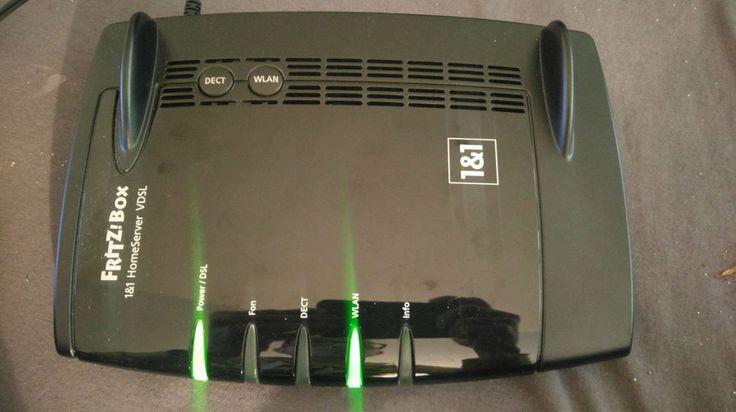 AVM Fritz Box . FritzBox 7362 SL - 1&1 Homeserver Modem Router Schwarz