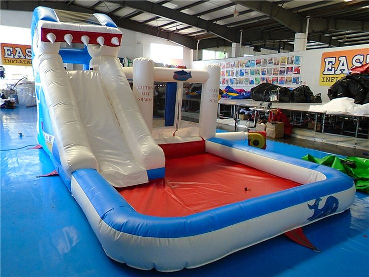 Cheap Adult Inflatable Shark Water Slide, Buy Air Inflatable Slide UK For Sale