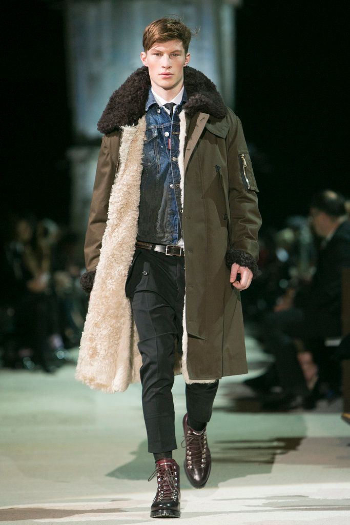 Dsquared2: Fall 2015 Menswear - NYTimes.com