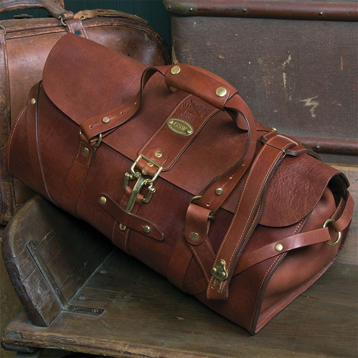 Please let me travel with this case in hand... I can smell the leather from here... Colonel Littleton No. 1 Grip