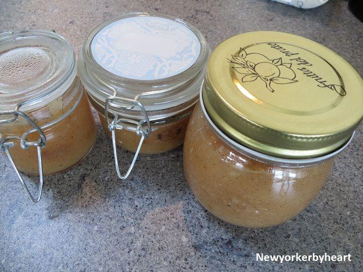Nektarin marmelade