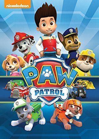 Resultado de imagen de PAW PATROL DVD