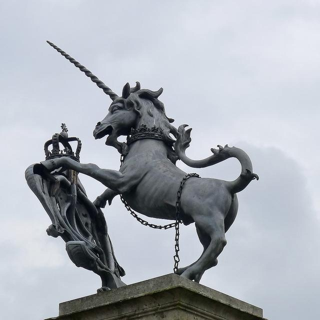 Scotland's national animal - Unicorn