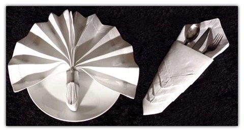 Las 25 mejores ideas sobre doblar servilletas de papel en for Decoracion de servilletas