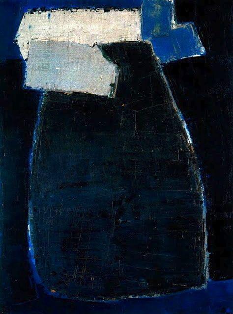 """Great Blue Composition"" 1950-51 Nicolas de Staël"
