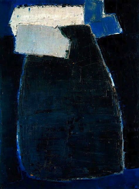 """Great Blue Composition"" 1950-51 Nicolas de Staël"
