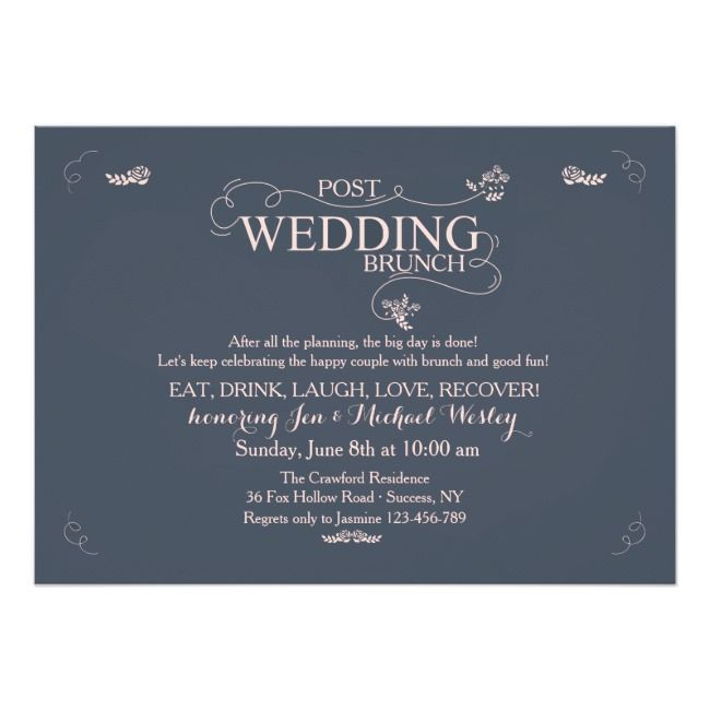 Pin On Post Wedding Brunch