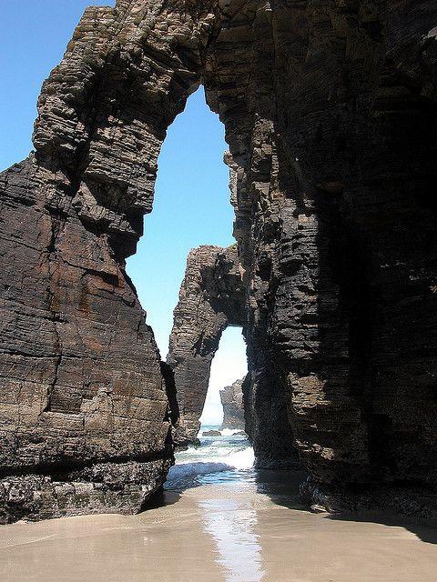 Galicia. Lugo. Ribadeo Playa de las Catedrales 060802 by javier1949, via Flickr