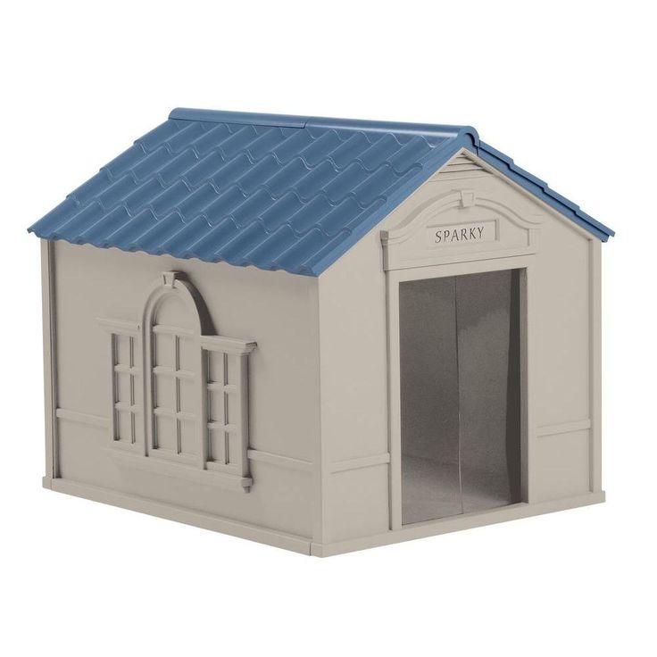 Super Pets 33 in. W x 38.5 in. D x 32 in. H Dog House >> See this great image  : Dog house