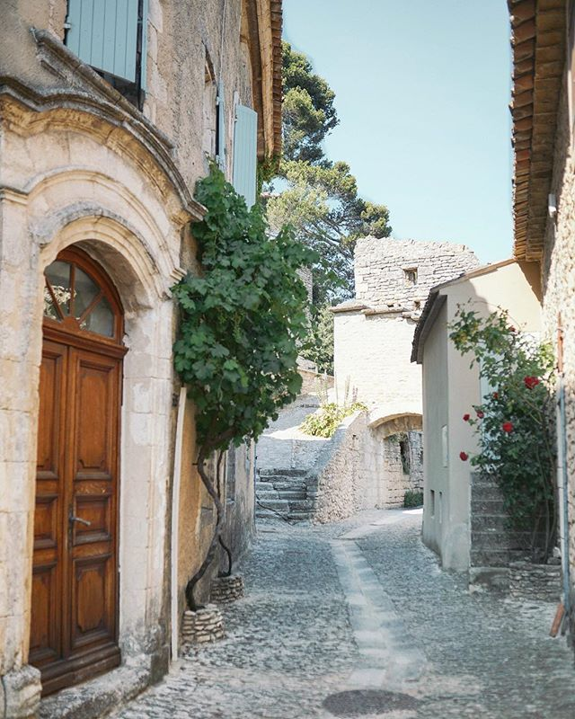 Late Postcard From Bonnieux Up On The Blog Bonnieux France