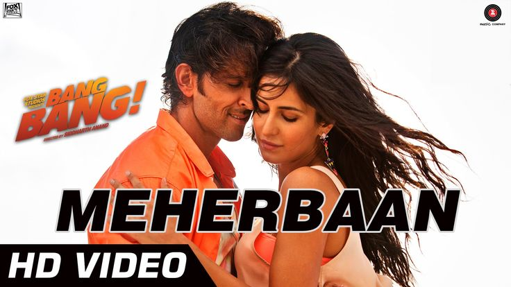 "Great Video. ""Bang Bang Meherbaan"" Video. Featuring Hrithik Roshan & Katrina Ka..."
