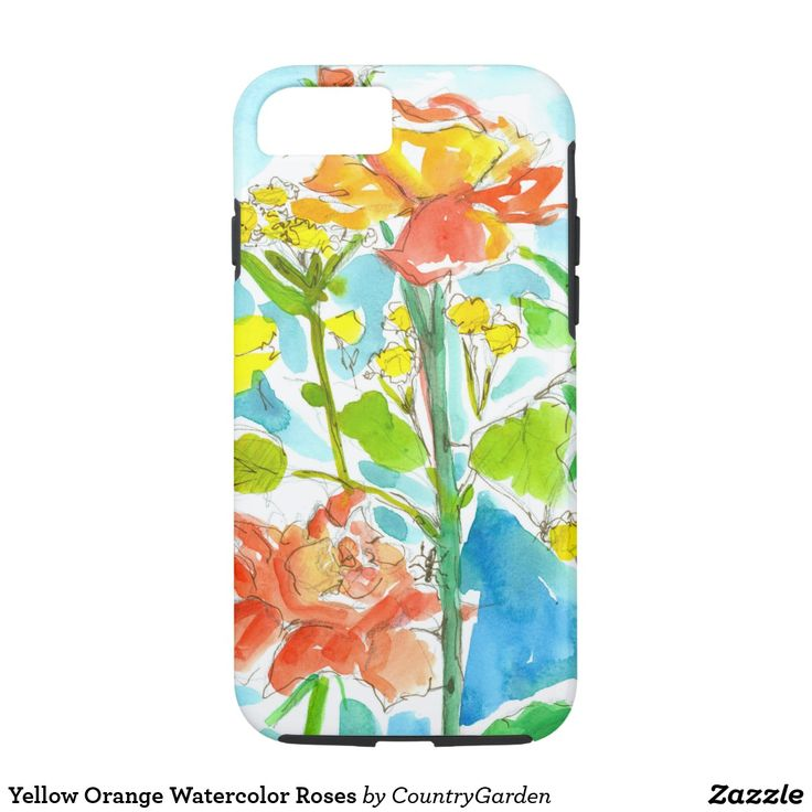 Iphone  Case With Roses