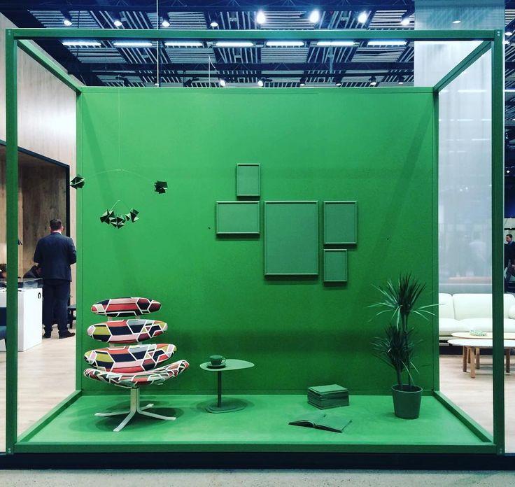 """#today @sthlmfurnfair #tinemouritsenexhibition #design for #erikjoergensen #erikjørgensen #tinemouritsen #stockholm #stockholmfurniturefair2016 #sff2016…"""