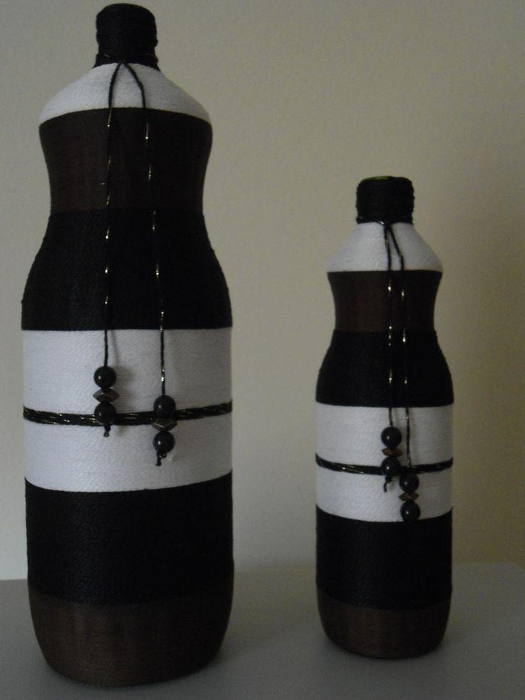 kit de garrafa de vidro coberta com fio de linha <br>nas cores marrom…                                                                                                                                                     Mais