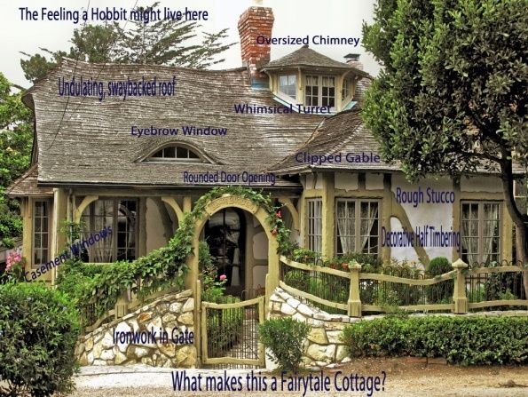 cottages: Storybook Cottages, Cottages Style, Fairytale Cottages, Built In, Front Gates, Houses Plans, Fairyt Cottages, Little Cottages, Fairies Tales