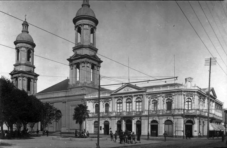 Iglesia La Matriz de Concepción en el año 1926.