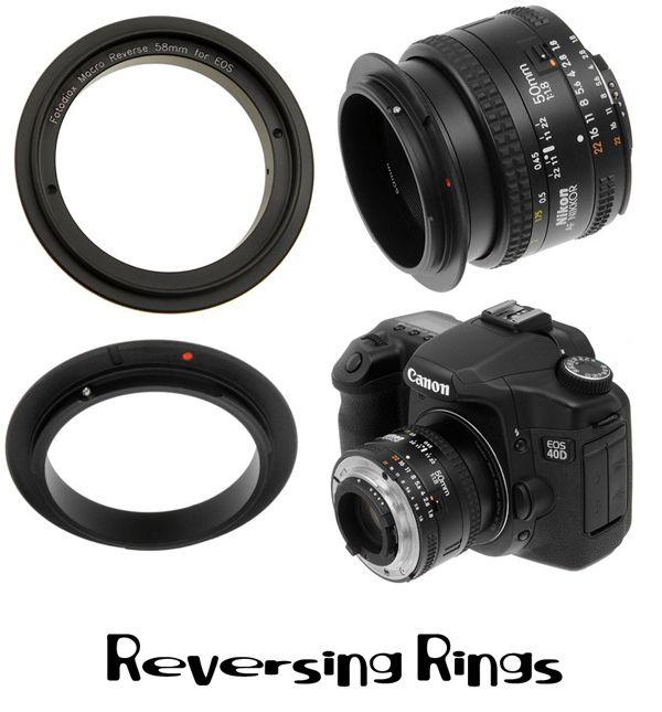 Macro Photography - Reversing Rings