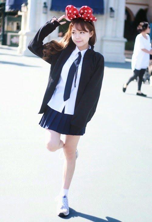 Official Korean Fashion Blog Korean Uniform Korean Street Fashion Pinterest