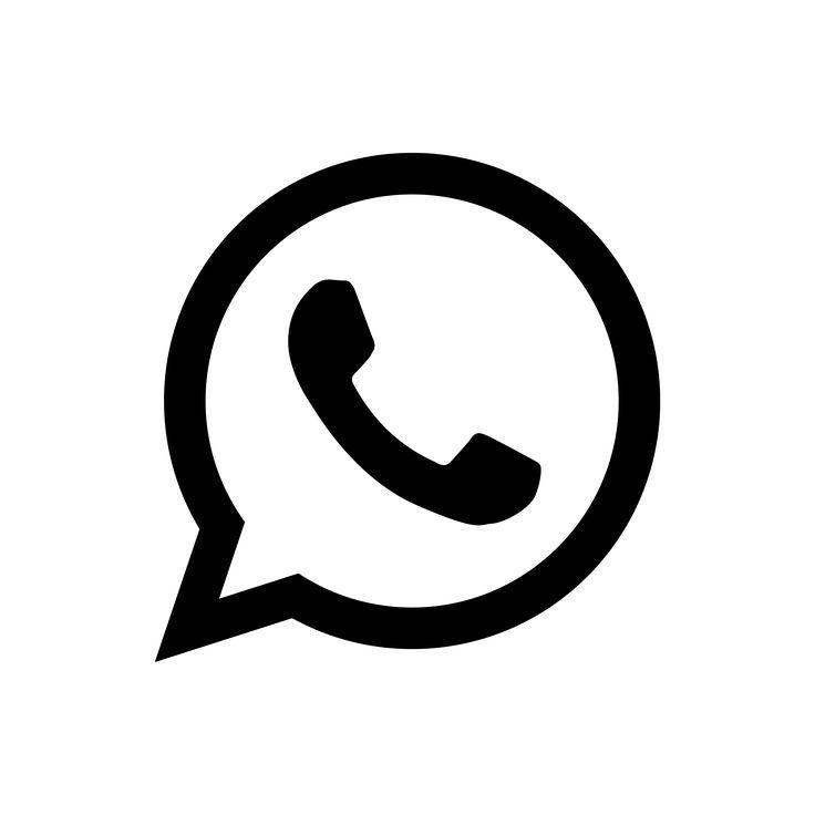 Whatsapp Icon Minimalist Logo Ikon Aplikasi Logo Aplikasi Pola Doodle