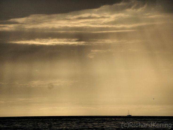 The sun through the rain