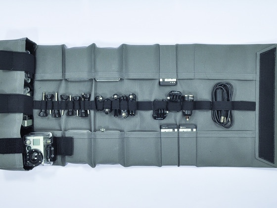 RollPro III - Organizer Case for GoPro by Mike Bratcher, via Kickstarter.