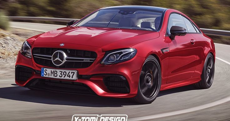 Mercedes-AMG E63 Coupe Would Challenge The BMW M6 #AMG #Mercedes