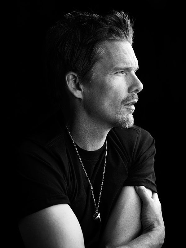 Ethan Hawke (1970) - American actor, writer and director. Photo © Richard Phibbs