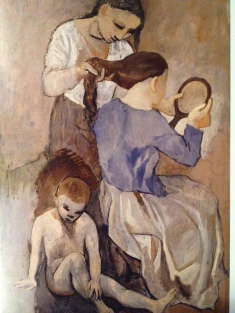 Lá Coiffure de Picasso, Metropolitan Museum of Art