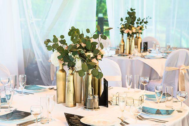 бутылки в декоре свадьбы - Поиск в Google