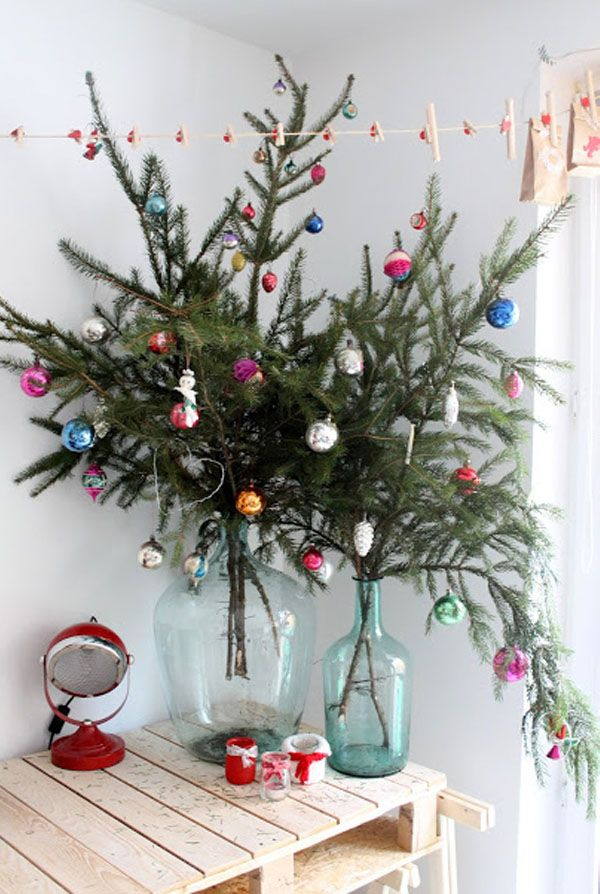 10 Non-Traditional Christmas Tree Ideas