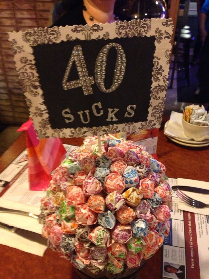 My 40th birthday made by my good friend