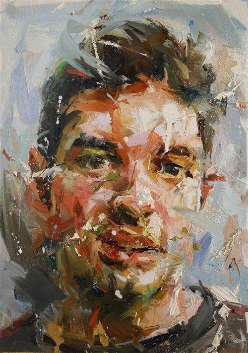 How To Paint Oil Colour Portrait