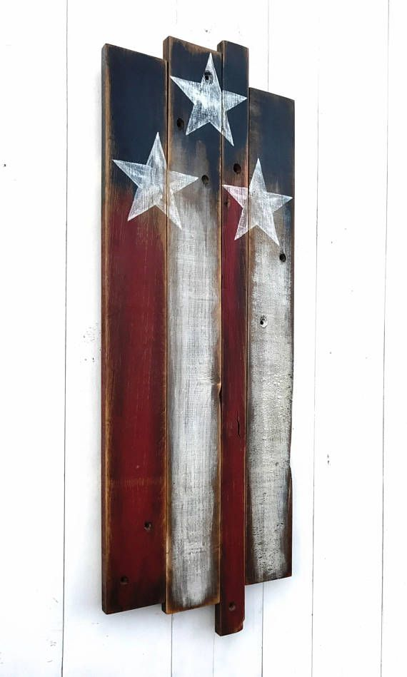 wooden american flag patriotic wall art painted on reclaimed wood these boards have a history almost as old as our flag itself