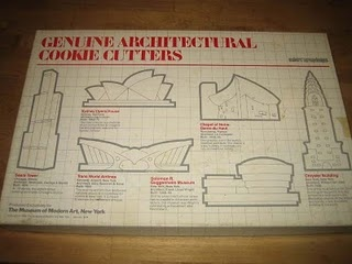 1988 Kenneth Walker for MOMA Genuine Architectural Cookie Cutters