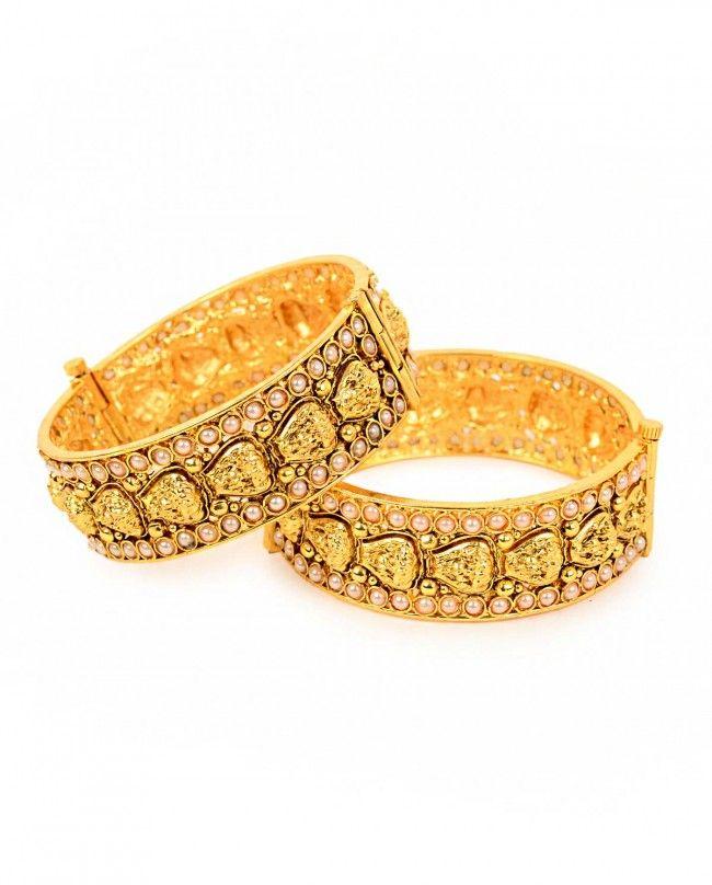 Green Stone Embellished Earrings | Anjali Jain | Shop Jewelry ...