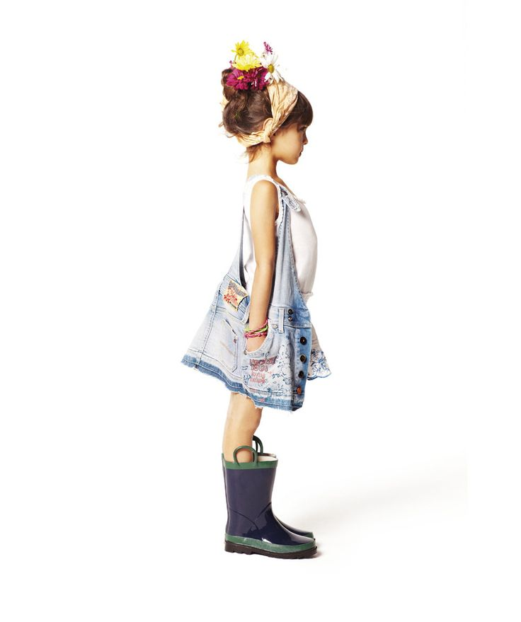 Sooo adorable!  by Replay and Sons.  #girls #clothes #kidsfashion