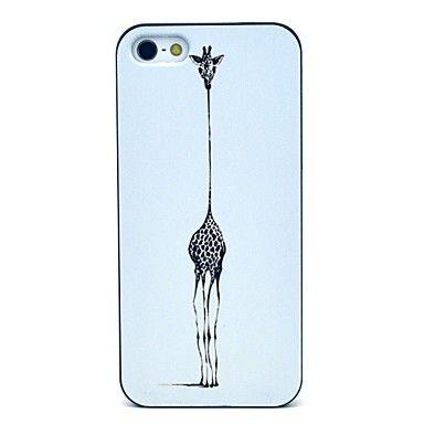 Giraffe Pattern Hard Case for iPhone 5/5S  – EUR € 3.67