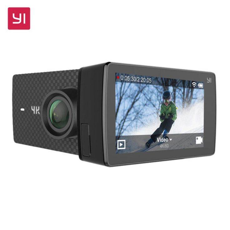 Esta increíble cámara de acción Yi 4k es un rival digno de la GoPro Hero 4 Black, a un precio mucho menor, la cámara de acción siguen una plantilla similar con capacidades de video a 4k y a 60 fps, es la primera con esta capacidad ya que la GoPro Hero 5 Black y la Sony FDR-X3000 superan los 30 fps.