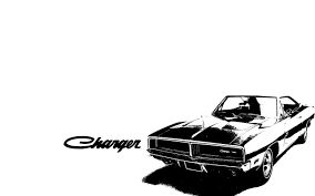 dodge charger 1969 rt draw