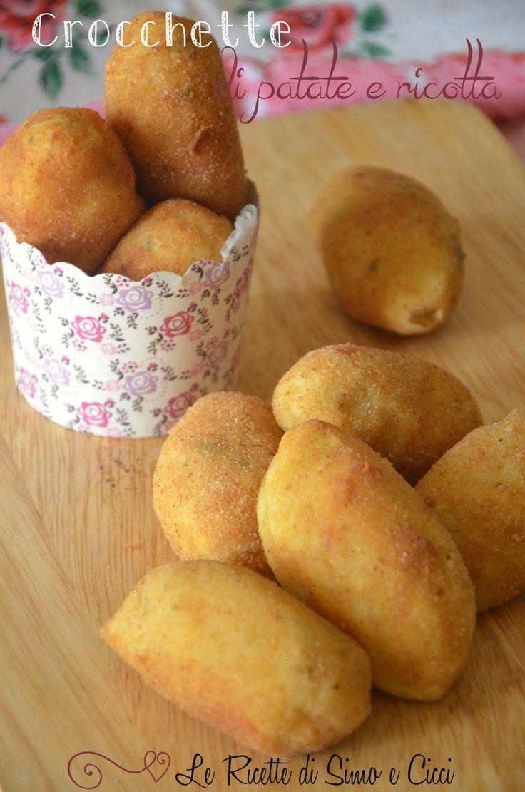 Crocchette di patate e ricotta