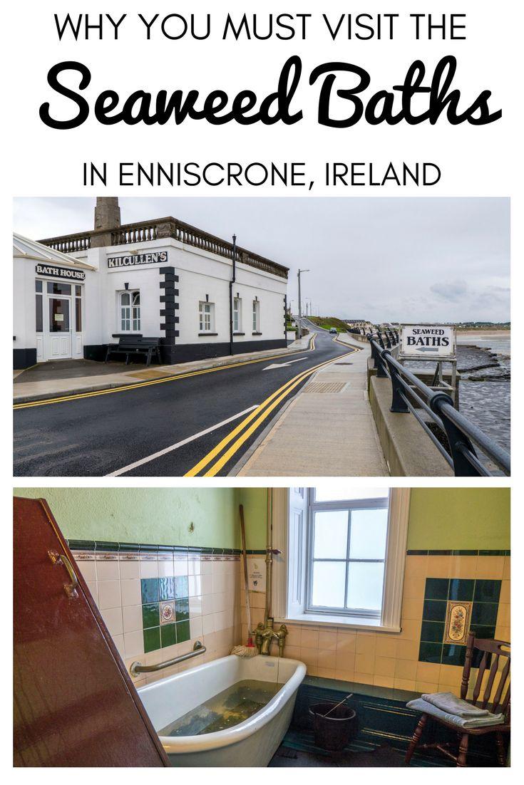 Seaweed Baths in Enniscrone, Ireland | Traditional Seaweed Spa | Enniscrone, County Sligo, Ireland