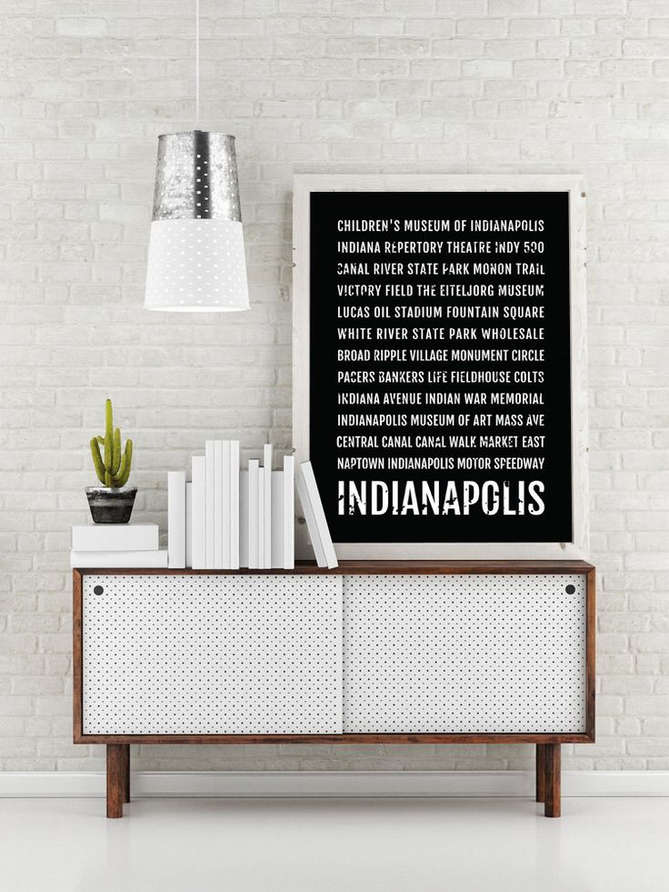 Indianapolis Print, Indianapolis Subway Sign Poster, Indiana Wall Art, Décor, Canvas, Word Map, Gift, Bus Scroll, Typography, Minimal,Custom by Sproutjam on Etsy https://www.etsy.com/listing/384993656/indianapolis-print-indianapolis-subway