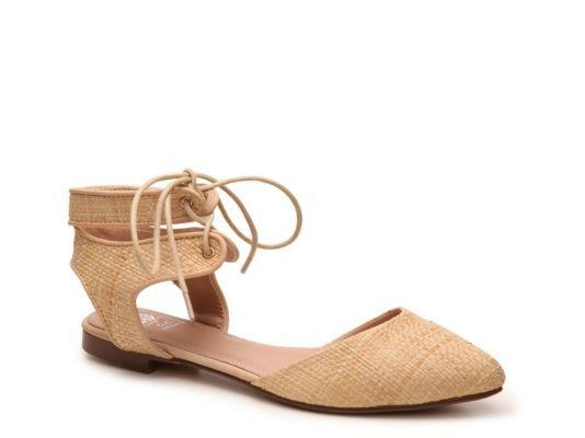Women's GC Shoes City Woven Flat - Tan