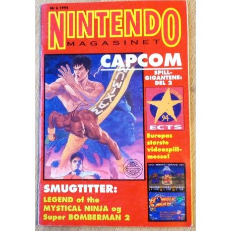Nintendo Magasinet: 1994 - Nr. 6 - Capcom