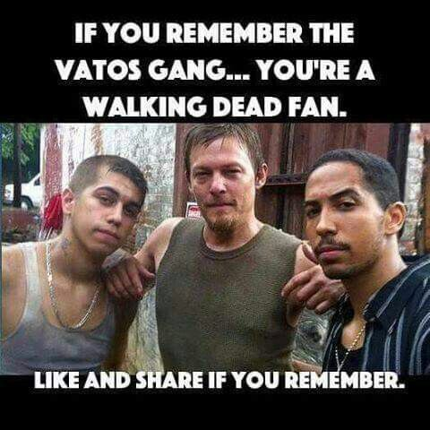 "Season1, yeah - they're the ""gang"" of caretakers that stayed to help the patients of a nursing home? when the zombiecalopse (is that a word? I'm making it a word) happened. Who doesn't remember the granny breaking up the gun fight xD ?(ok, I like the Walking Dead)"